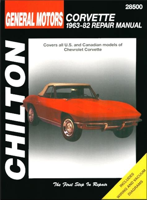 car repair manuals download 2008 chevrolet corvette spare parts catalogs chevy corvette stingray repair manual 1963 1982