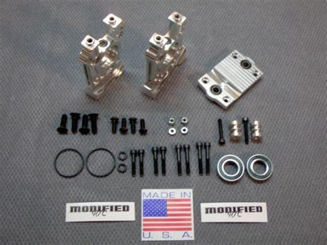 Modified Rc Center Diff Mount Set For Losi 5ive by Modified Rc Center Diff Mount Set For Losi 5ive