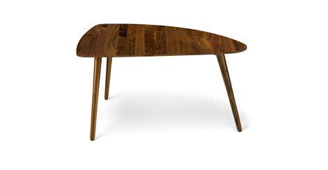 Amoeba Wild Walnut 35 Quot Wide Coffee Table Coffee Tables Wide Coffee Tables