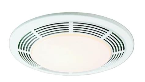 100 Cfm Ceiling Bathroom Exhaust Fan With Light And Heater Qt9093wh The Home Depot Broan 174 100 Cfm Ceiling Exhaust Bath Fan With Light At Menards 174