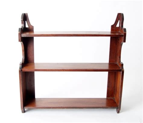 Mahogany Shelf by Mahogany Shelf C 1860 From Doriswarehouse On