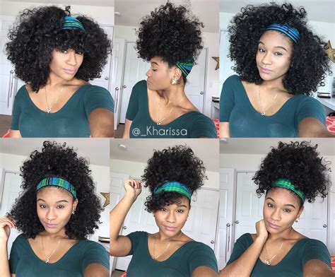 3 quick and easy head wrap styles for bad hair days 6 quick and easy headband styles for natural hair youtube