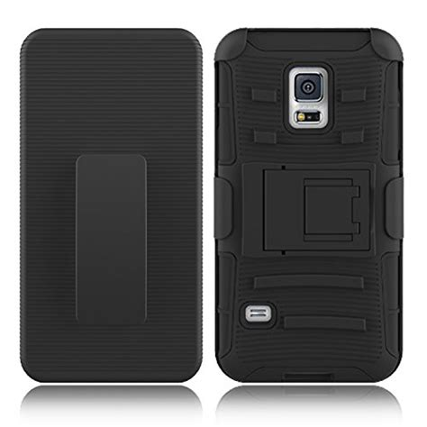 Cover Samsung S5 I9600 Hybrid Armor Defender With Murah galaxy s5 zenic tm hybrid dual layer armor defender protective cover with