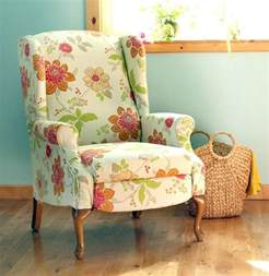 wingback chair upholstery tutorial how to paint upholstery old fabric chair gets beautiful