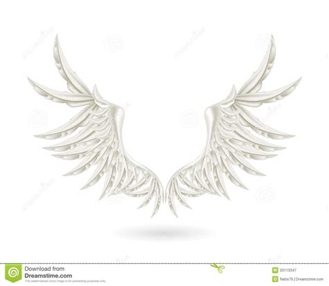 Fly And Be Free With Silver Service Wings Necklace From Direct by Silver Wings Royalty Free Stock Photography Image 20113347