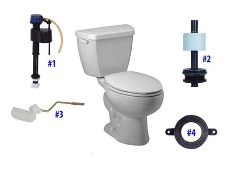 Briggs Plumbing Parts by Briggs Maelstrom Toilet Replacement Parts