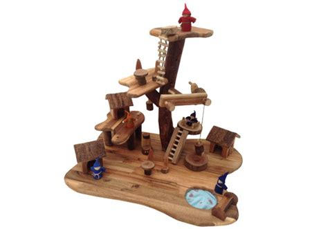 plan toys tree house new wooden treehouse toy sustainable eco friendly wooden