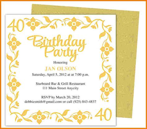 Birthday Invitation Template Word Authorization Letter Pdf Microsoft Word Birthday Invitation Templates