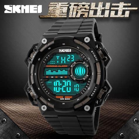 Promo Skmei Jam Tangan Digital Dg1127 Black Blue New skmei jam tangan digital pria dg1115 black blue jakartanotebook