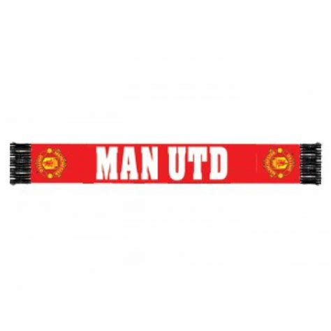 manchester united f c official manchester united fc football official scarf 1000000000221