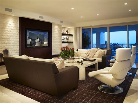 The Living Room Miami Fl Arnold Schulman Contemporary Living Room Miami By