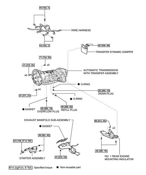 transmission control 2004 lexus is free book repair manuals repair guides transfer case transfer case removal installation autozone com