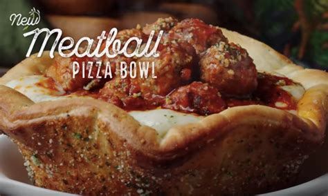 olive garden pizza bowl when can you order olive garden s meatball pizza bowl it s only available at certain times
