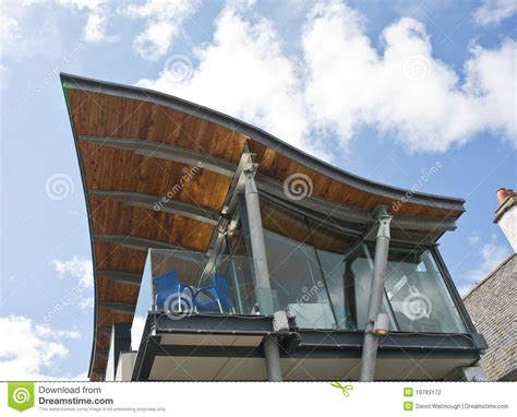 An Unusual Roof Design. Stock Photography   Image: 19783172