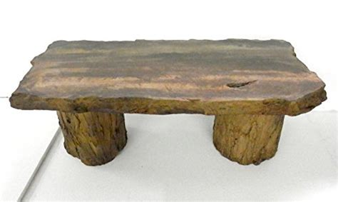 cast petrified rock bench handmade fossilized bench concrete table cf 302 petrified