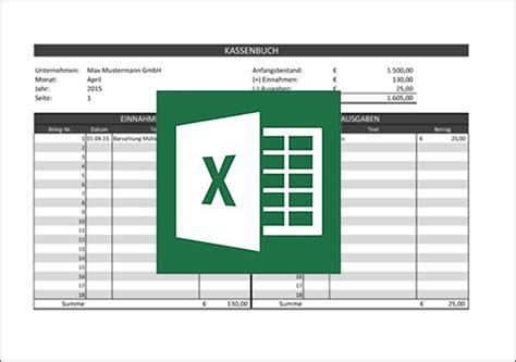 Kostenlose Vorlage Kassenbuch Kassenbuchvorlage F 252 R Excel Mit Anleitung Kostenlos