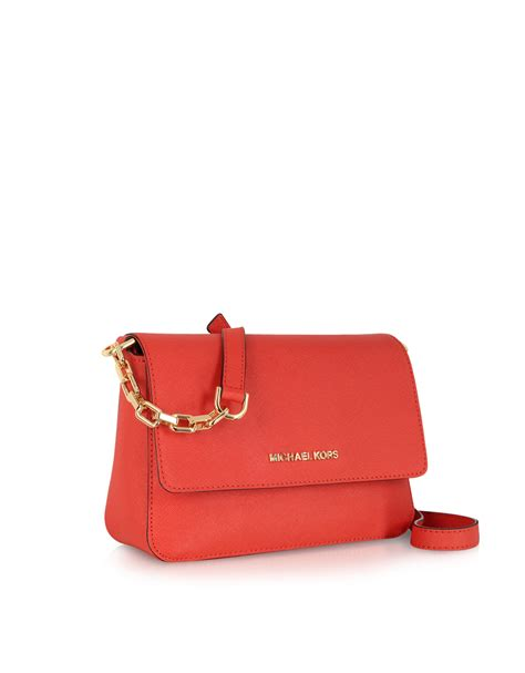 Flap Crossbody Bag michael kors selma saffiano leather flap crossbody bag in