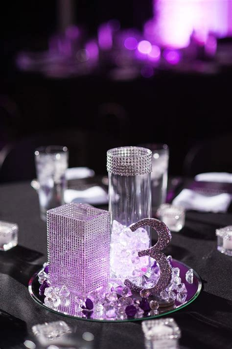 Best 25  Bling wedding centerpieces ideas on Pinterest