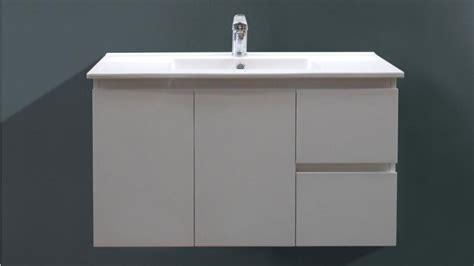 Harvey Norman Vanities by Ledin Ensuite 900mm Wall Hung Vanity Bathroom