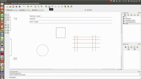 tutorial librecad youtube librecad tutorial 10 select window correction draft