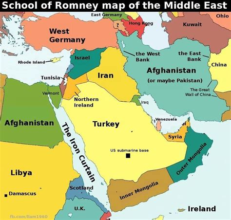 middle east map pre world war romney middle east geography fail balloon juice