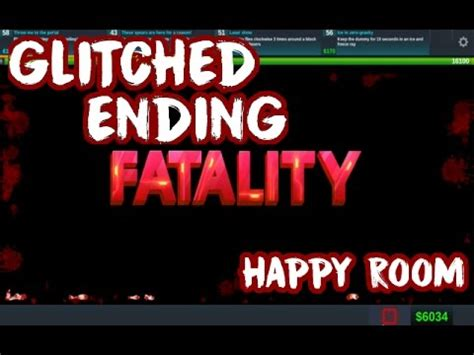 happy ending room all the weapons happy room 5 end