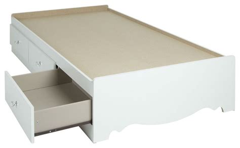 white platform bed with drawers white wood platform bed daybed with storage drawers 2