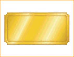 Free Golden Ticket Template by While You Were Out Template Wordscrawl