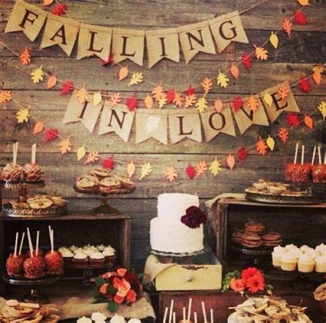 wedding ideas for fall fall wedding fall rustic wedding ideas 2121950 weddbook