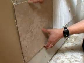 how to install a porcelain tile shower surround how to diy