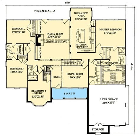 split bedroom ranch with bonus 3653dk 1st floor master pretty as a picture 32414wp 1st floor master suite