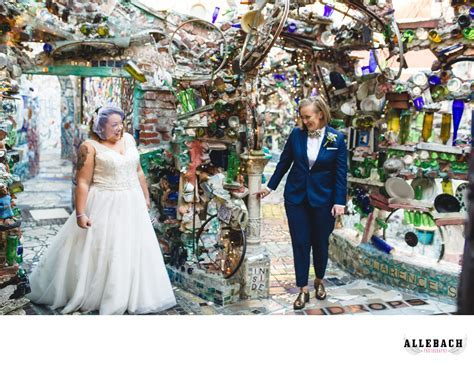 Best Magic Gardens Philadelphia Same Sex Wedding
