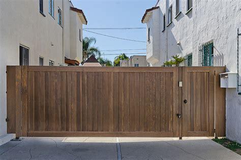 pacific garage doors wood gates and matching garage door traditional