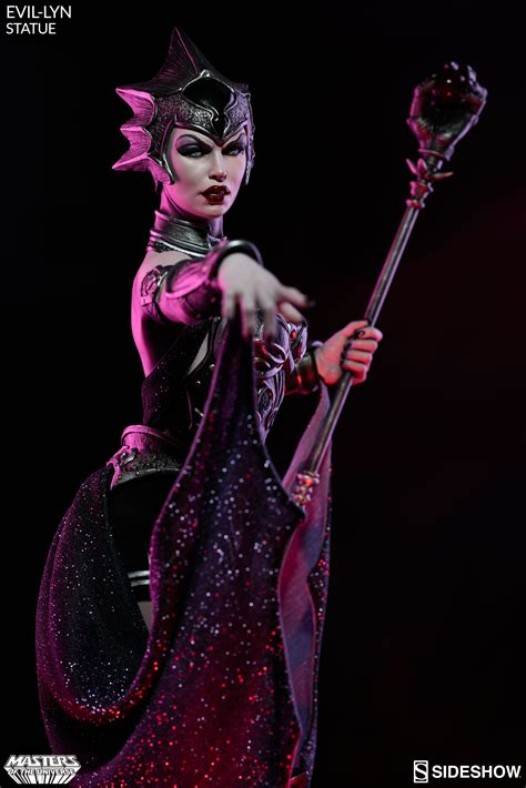 evil lyn joins skeletor and he man in sideshow s masters