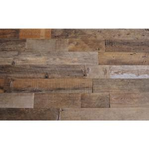 reclaimed barn wood brown sealed 3 8 in thick x 5 5 in