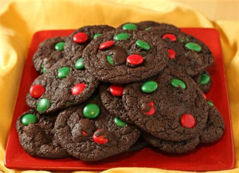 christmas cookie recipes chocolate mint cookies and