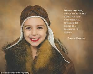 amelia earhart little people 1847808859 from malala to amelia earhart mother dresses her daughter as feminist icons daily mail online