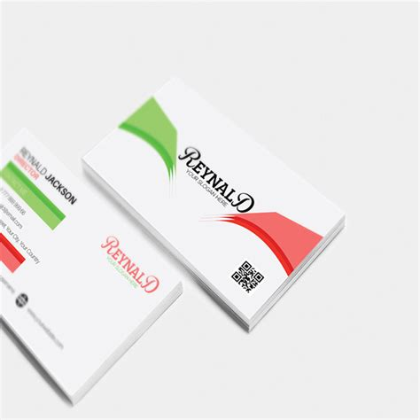 visiting card illustrator templates free corporate business card illustrator template on behance