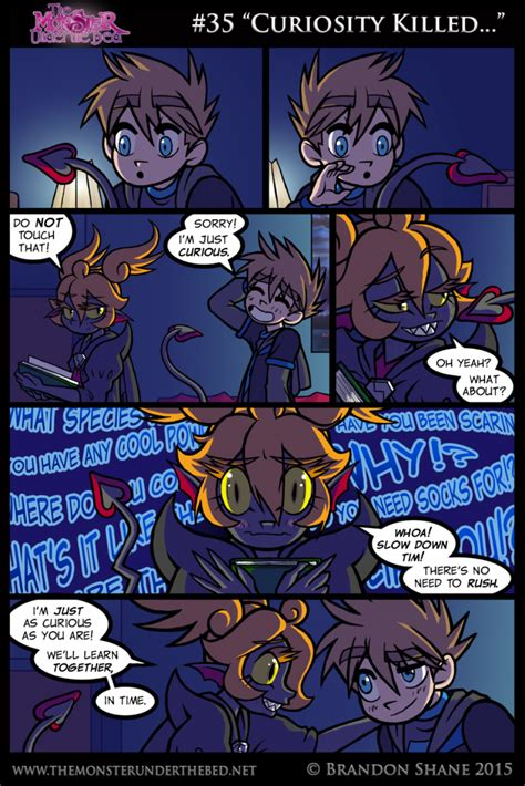 monster under the bed comic 35 curiosity killed the monster under the bed