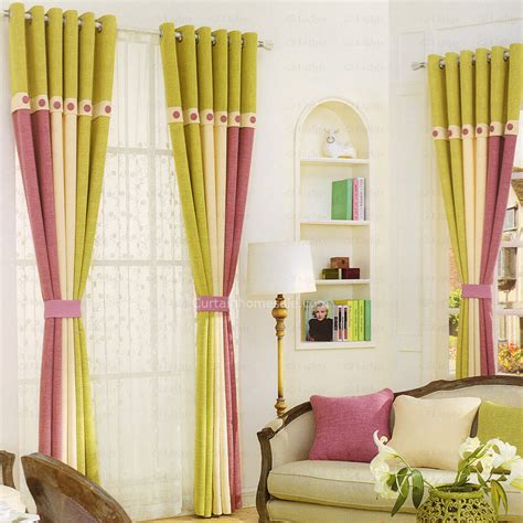 green and beige curtains fresh green purple and beige living room curtain 2016 new