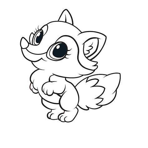 dibujos para colorear zorro imagen de un zorro para colorear