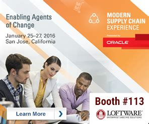 top 3 reasons to attend oracle modern supply chain experience 2016
