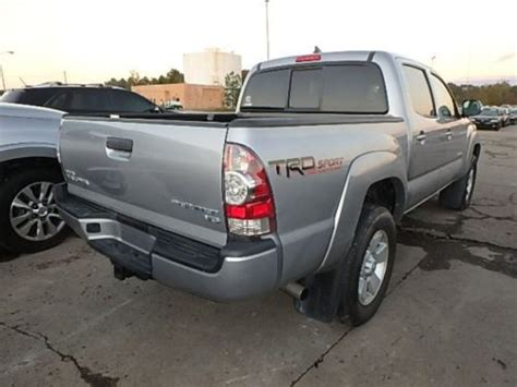 Toyota Tacoma Prerunner For Sale 2015 Toyota Tacoma Prerunner V6 For Sale Ebay Used Cars