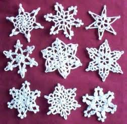 snowflake christmas crochet pattern crafts free