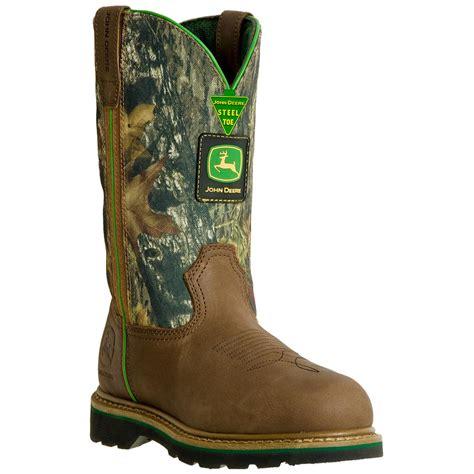 mens camo boots s deere 174 11 quot western welt wellington boots camo