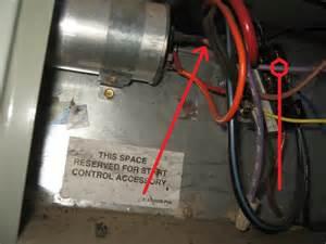 trane xe1000 capacitor wiring blew up my trane xe1000 any wiring help hvac diy chatroom home improvement forum