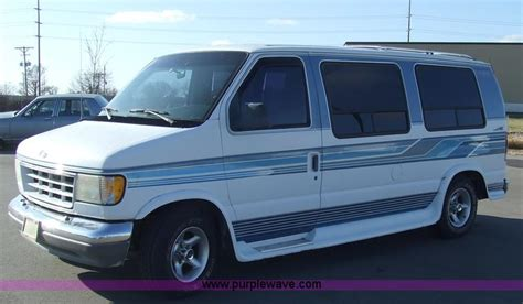 1993 ford econoline e150 cargo pricing ratings reviews kelley blue book 1993 ford trans air econoline e150 seven passenger conversio