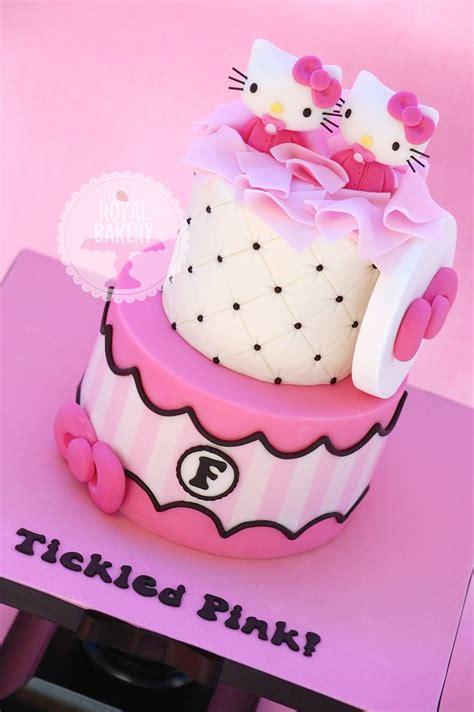 images   kitty cakes  pinterest decorating websites  kitty birthday