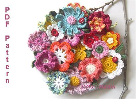 free crochet flower pattern uk mini crochet flowers patterns free crochet patterns