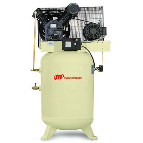 ingersoll rand 10 hp 120 gallon vertical two stage air compressor 460v 3 phase ebay